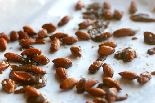 Candied Almonds with Sea Salt