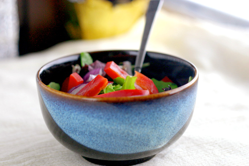 Red Pepper Salad