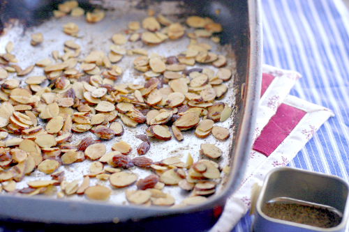 Garam Masala Almonds