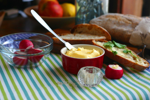 Amazing Homemade Butter in the Food Processor