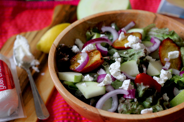 Plum salad 1