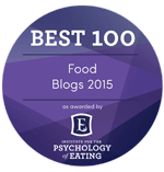 Institute for the Psychology of Eating - Best 100 Food Blogs 2015