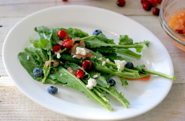 Warm Cranberry Vinaigrette