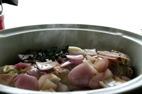 french pork steam again