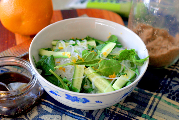 Cucumber wasabi salad 1