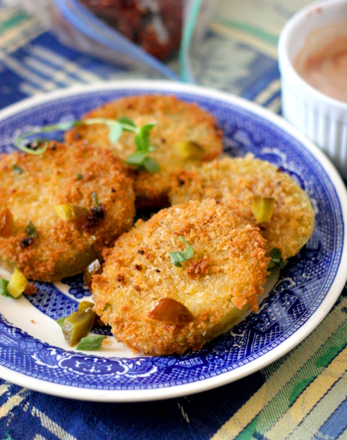 Fried Green Tomatoes Vertical