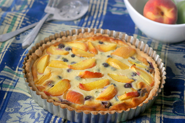 ricotta-peach-pie