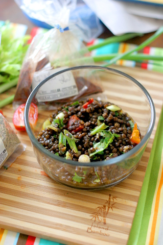 Chipotle Lime Lentil Salad