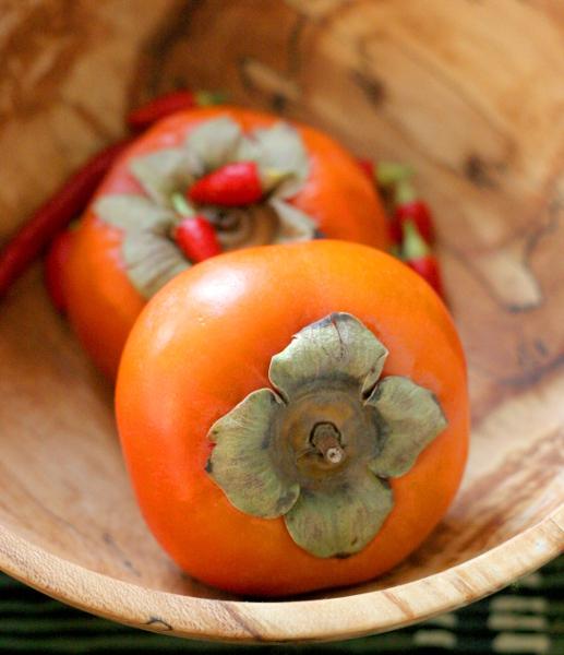 Persimmon bowl