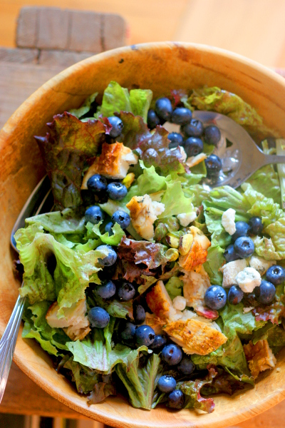 Chicken blueberry salad final